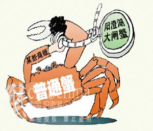 买蟹送给客户,却被告知不是正宗!